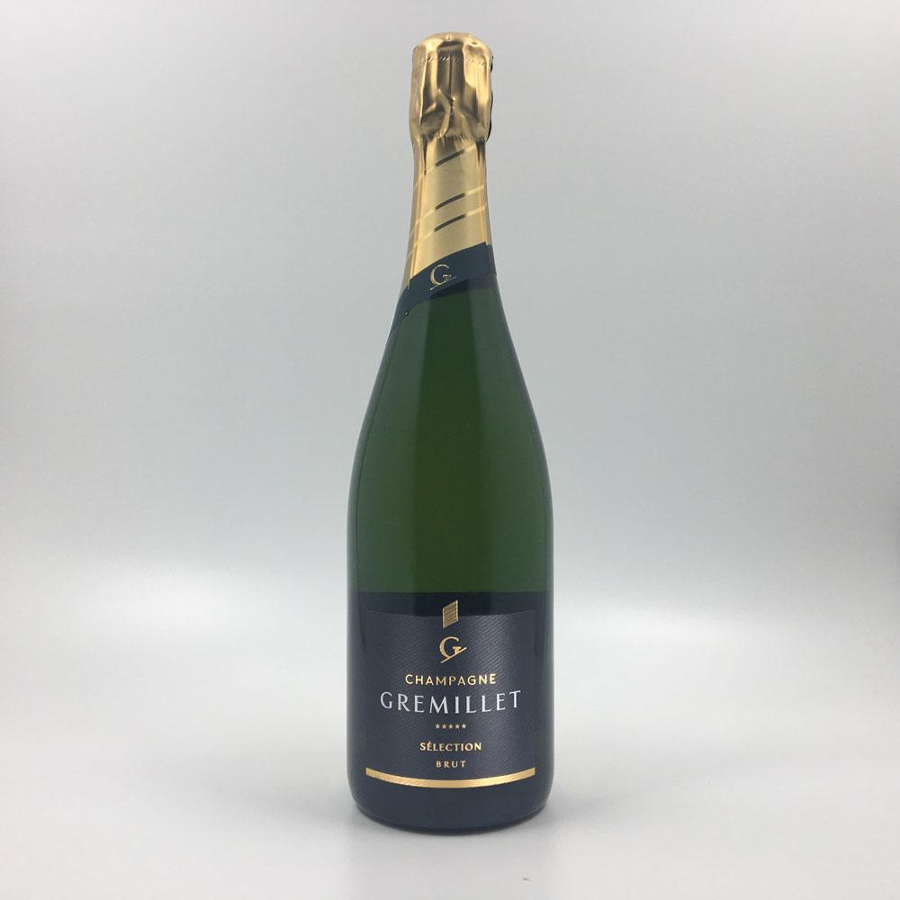 bottle of GREMILLET BRUT SELECTION CHAMPAGNE Sparkling Cultivate Local