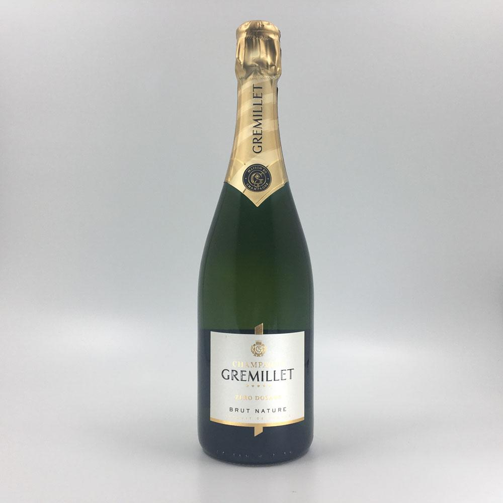 bottle of GREMILLET ZERO DOSAGE BRUT NATURE CHAMPAGNE Sparkling Cultivate Local