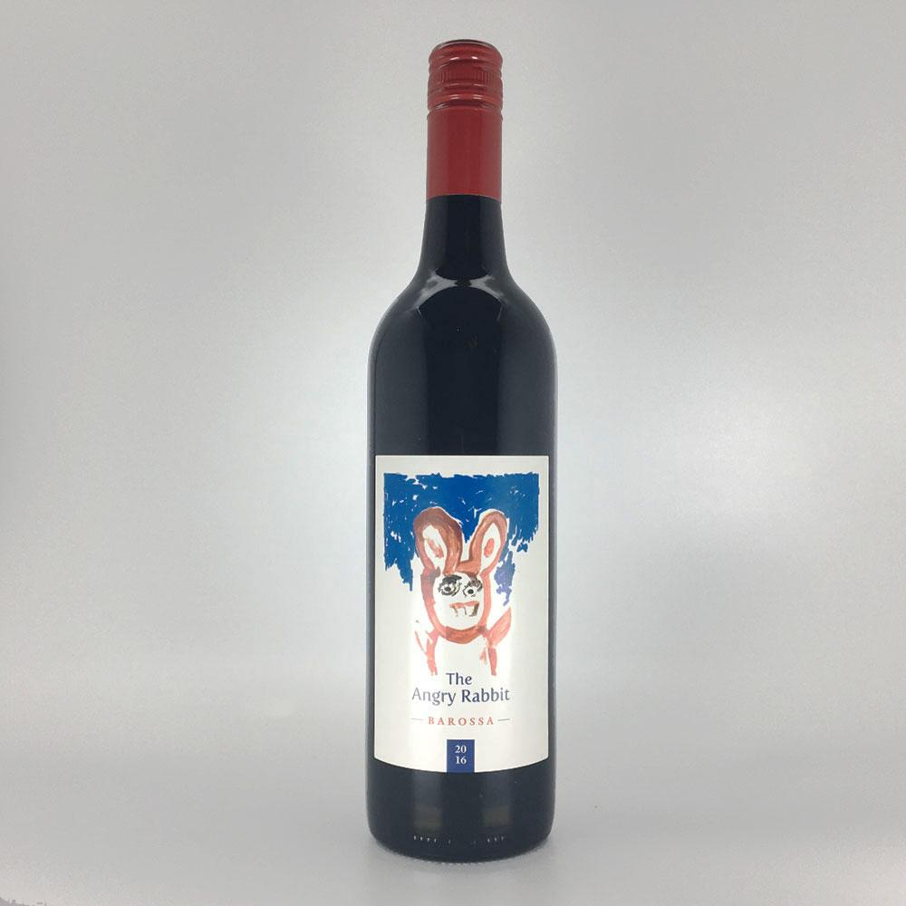 bottle of HEATHVALE 'Angry Rabbit' SHIRAZ CABERNET 2016 Red Wine Cultivate Local