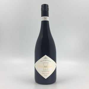 bottle of HEATHVALE 'The Belief' SAGRANTINO 2017 Red Wine Cultivate Local