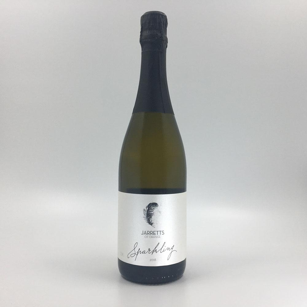 bottle of JARRETTS SPARKLING 2018 Sparkling Cultivate Local