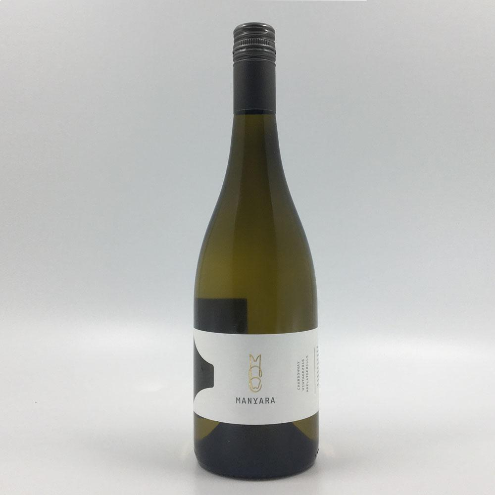 bottle of MANYARA CHARDONNAY 2016 White Wine Cultivate Local