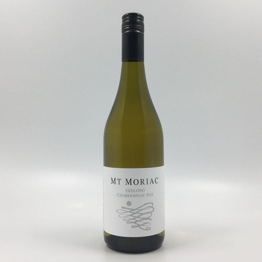 bottle of Mt MORIAC CHARDONNAY 2018 White Wine Cultivate Local