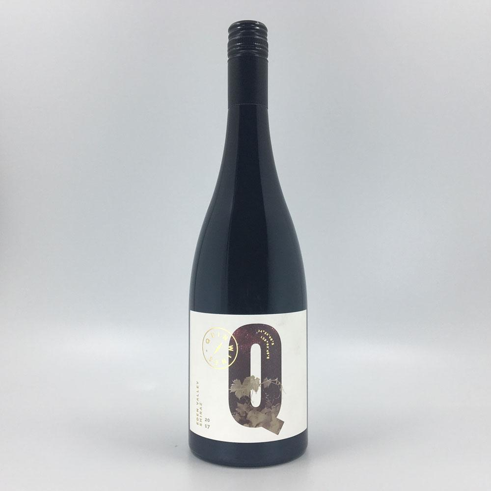 bottle of QUIN SHIRAZ 2017 Red Wine Cultivate Local