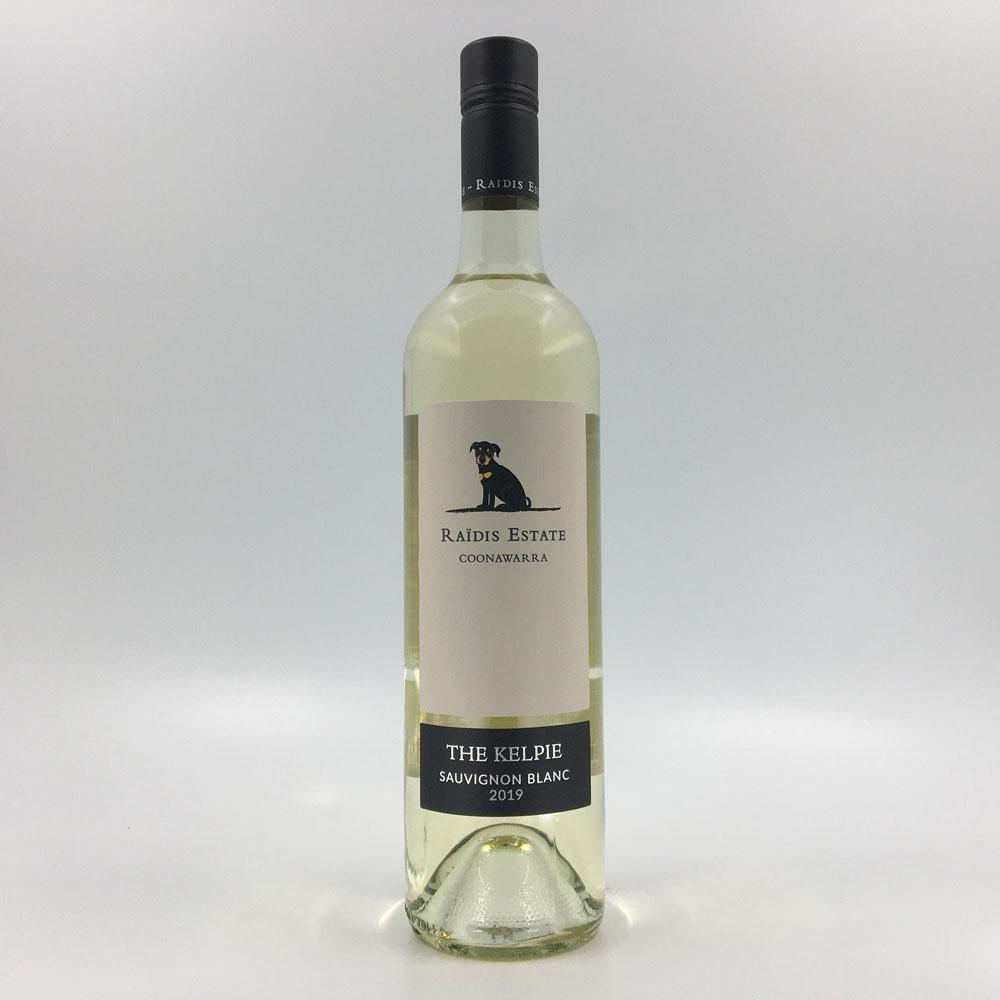 bottle of RAIDIS ESTATE 'The Kelpie' SAUVIGNON BLANC 2019 White Wine Cultivate Local