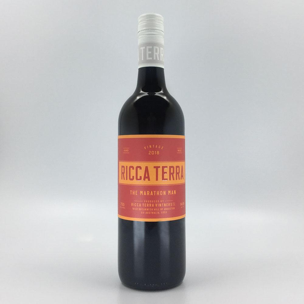Load image into Gallery viewer, the marathon man red wine blend from ricca terra 2018