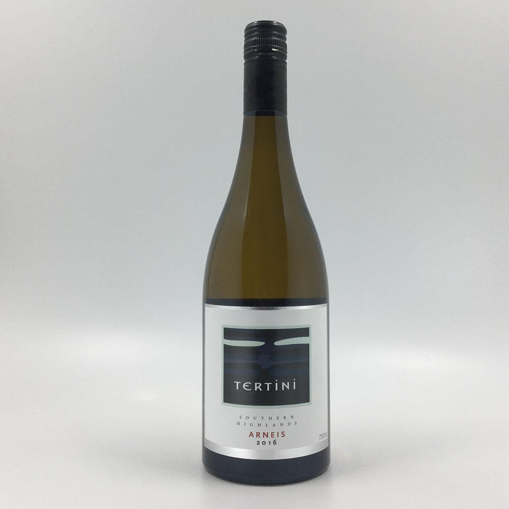 bottle of TERTINI ARNEIS 2016 White Wine Cultivate Local