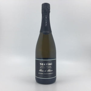 bottle of TERTINI BLANC DE BLANCS 2017 Sparkling Cultivate Local
