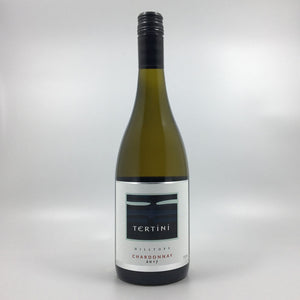bottle of tertini chardonnay 2017 white wine Cultivate Local