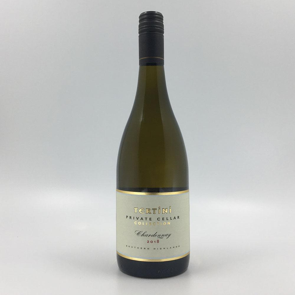 bottle of TERTINI PCC CHARDONNAY 2018 White Wine Cultivate Local