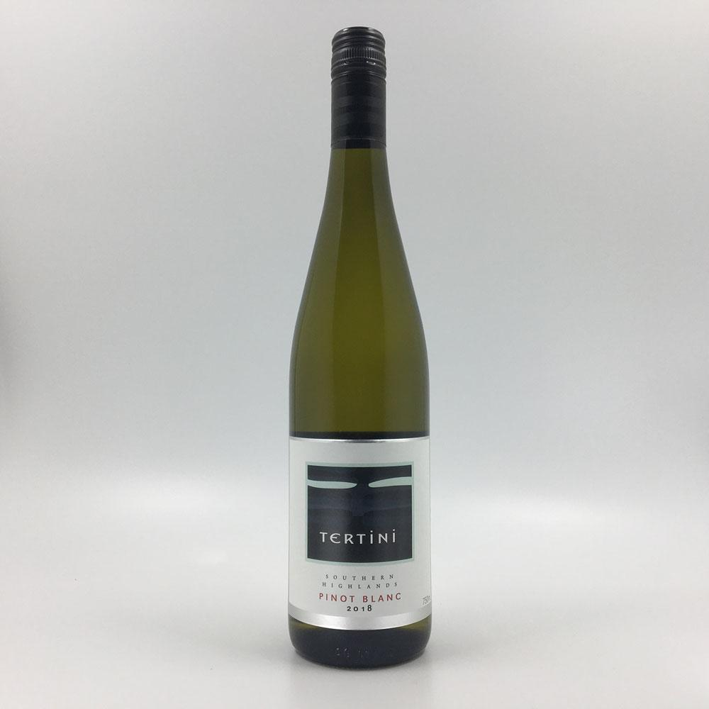 bottle of TERTINI PINOT BLANC 2018 White Wine Cultivate Local