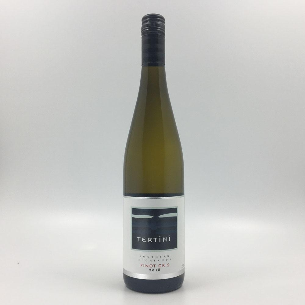 bottle of TERTINI PINOT GRIS 2018 White Wine Cultivate Local