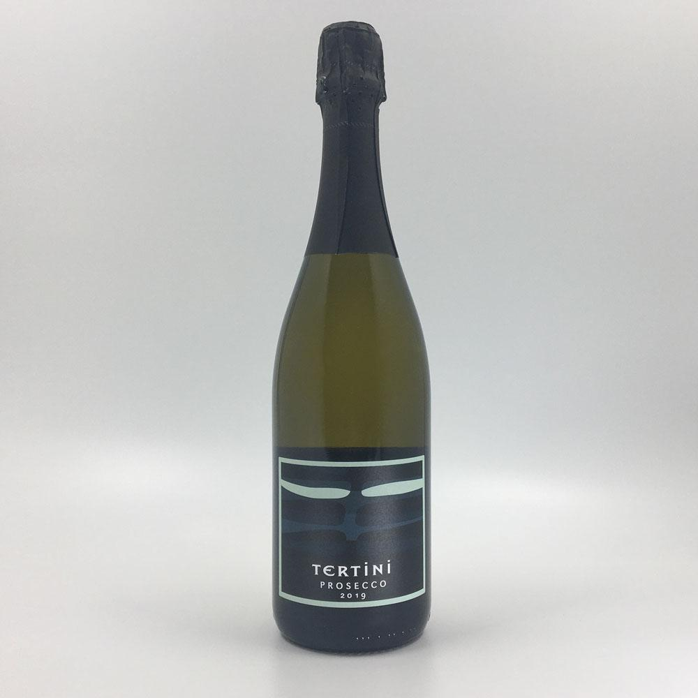 bottle of TERTINI PROSECCO 2019 Sparkling Cultivate Local