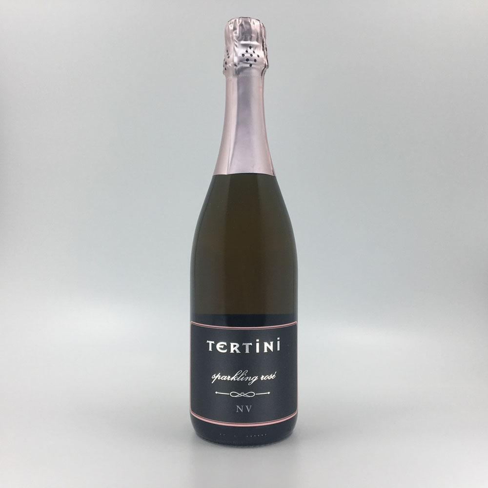 bottle of TERTINI SPARKLING ROSÉ Sparkling Cultivate Local