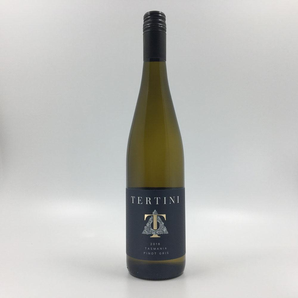 bottle of TERTINI TASMANIA PINOT GRIS 2018 White Wine Cultivate Local