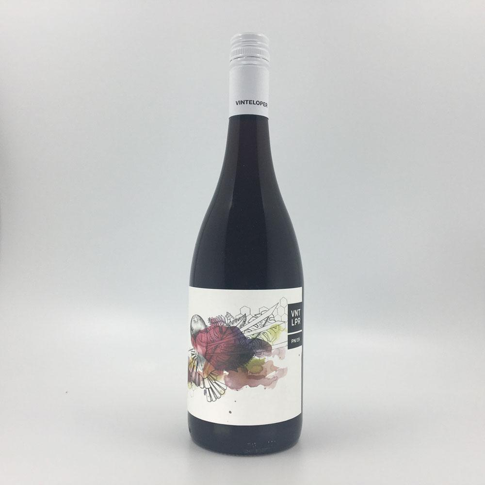 bottle of VINTELOPER PINOT NOIR 2019 Red Wine Cultivate Local