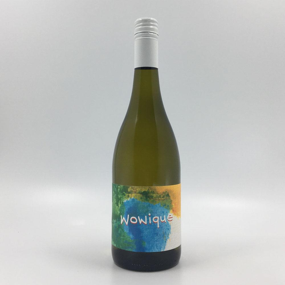 bottle of WOWIQUE SAUVIGNON BLANC SEMILLON 2019 White Wine Cultivate Local