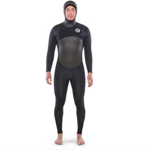 Load image into Gallery viewer, ISURUS TI ALPHA 6.5 HOODED CHEST ZIP WETSUIT