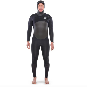 ISURUS TI ALPHA 5.4 HOODED CHEST ZIP WETSUIT