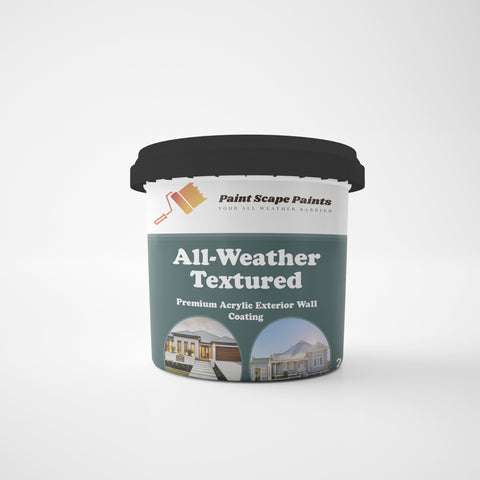 All-Weather Textured Acrylic Paint Scape Paints