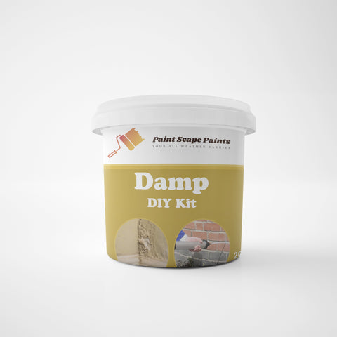 Damp DIY Kit Paint Scape Paints