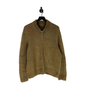 1960s Cable Knit Jacket - L