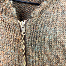 Load image into Gallery viewer, 1960s Cable Knit Jacket - L
