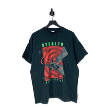 Load image into Gallery viewer, 90s Stealth Bomber T Shirt - XL