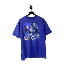 Load image into Gallery viewer, 90s Harley Davidson Wolf T Shirt - XL