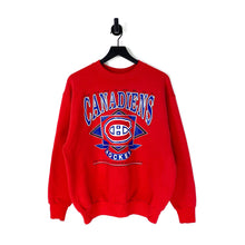 Load image into Gallery viewer, 90s Canadiens Montreal Hockey Sweatshirt - L