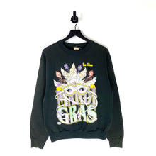 Load image into Gallery viewer, 90s Mardi Gras Sweatshirt - M