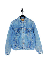 Load image into Gallery viewer, 80s Levis Blanket Lined Denim Jacket - M