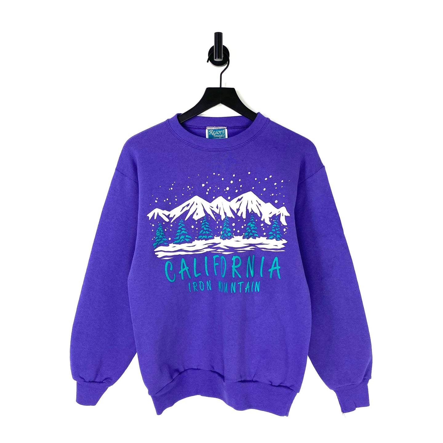 90s California Iron Mountain Sweatshirt - M