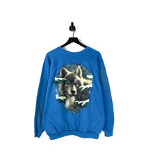 Load image into Gallery viewer, 90s Wolf Sweatshirt - XL