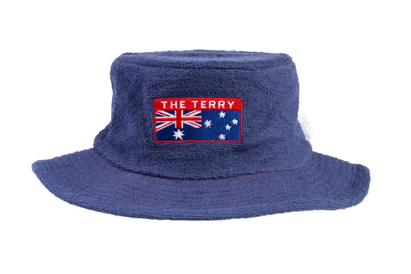 Aussie Narrow Brim Terry Towelling Hat - The Terry Australia