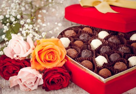 Flowers and Chocolate Gifts