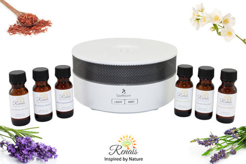 Essential Oil Diffuser Relaxation Package