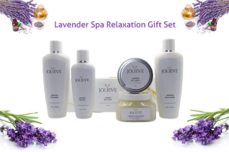 Lavender Spa Relaxation Gift Set