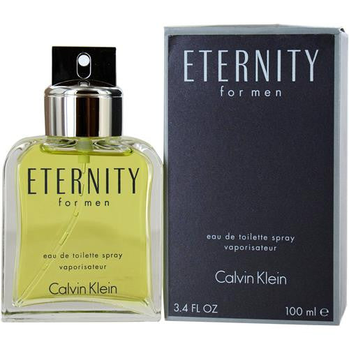 Calvin Klein Eternity for Men Eau De Toilette Spray 3.4 oz