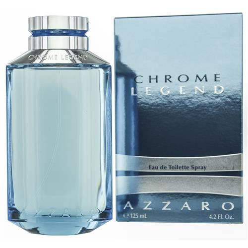Azzaro Chrome Legend Eau De Toilette Spray 4.2 oz