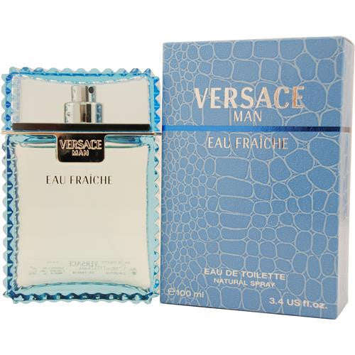 Versace Man Eau Fraiche Eau De Toilette Spray 3.3 oz