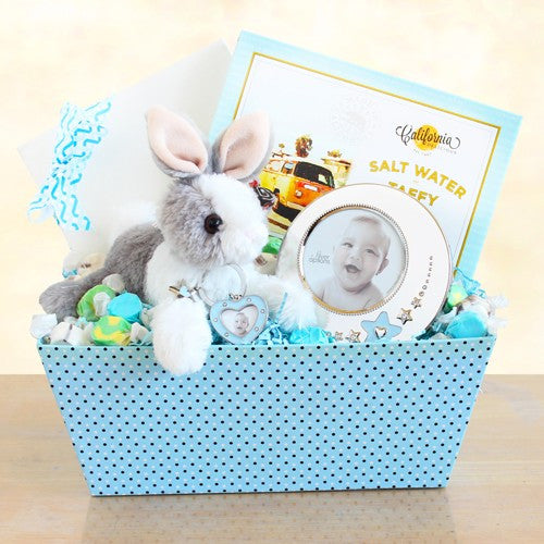 New Arrival Bunny and Picture Frame Gift Set for Boy