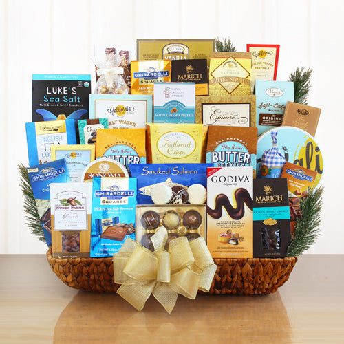 Gourmet Gift Celebration Basket