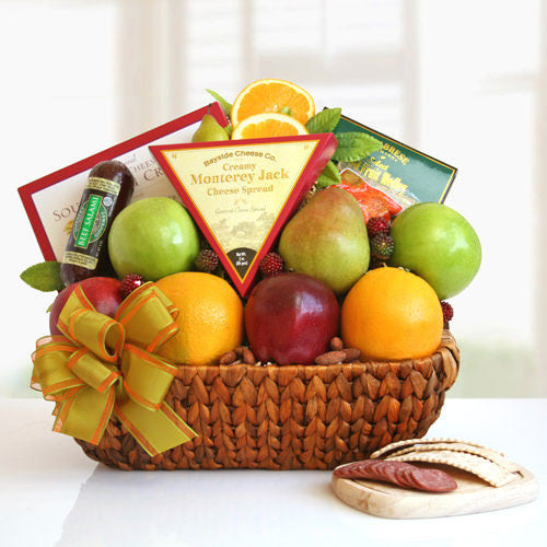 Fruit and Nuts Gift Basket