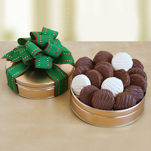 Chocolate Covered Cookies Gift Box