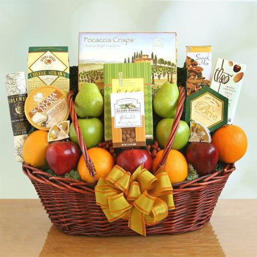 Healthy Wishes Gift Basket