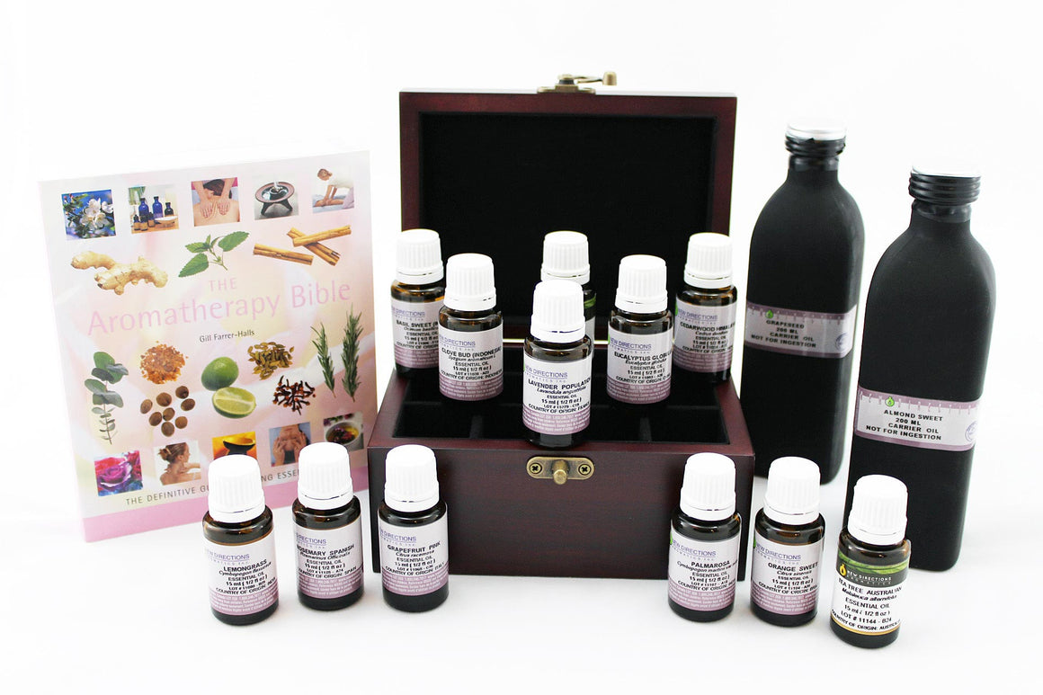 Aromatherapy Large Essential Oils Gift Set
