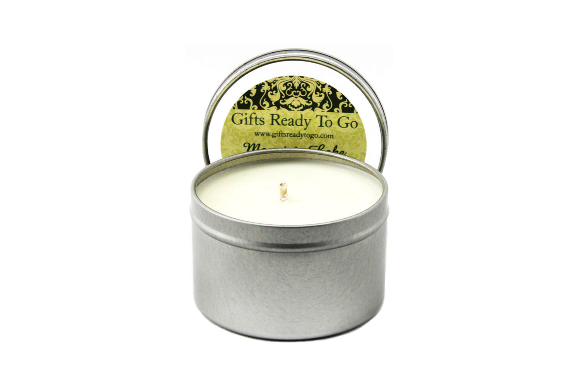 Open Soy Candle Tin