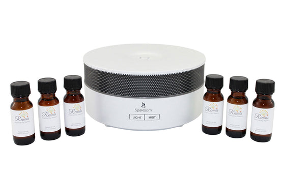 Essential Oil Diffuser Mood Boosting Package