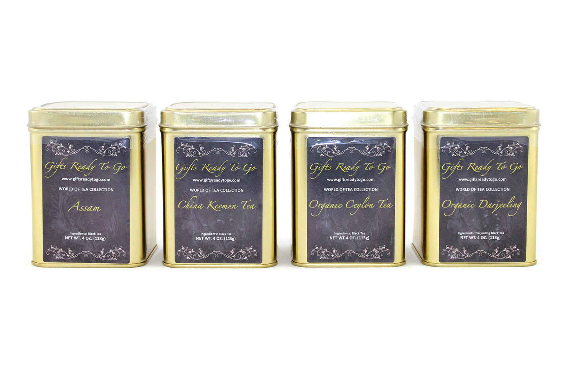 Gifts Ready To Go Gold Collection - Black Tea Gift Set